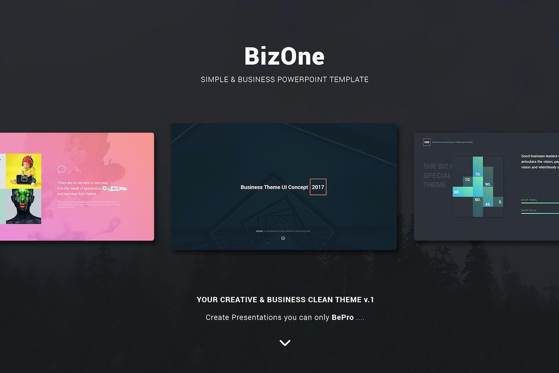 BizOne Keynote