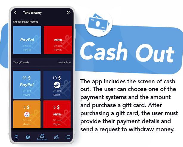 Premium Rewards App - CPI Offers System & Rewards App & HTML5 Mini Games + PHP Laravel Admin Panel - 17