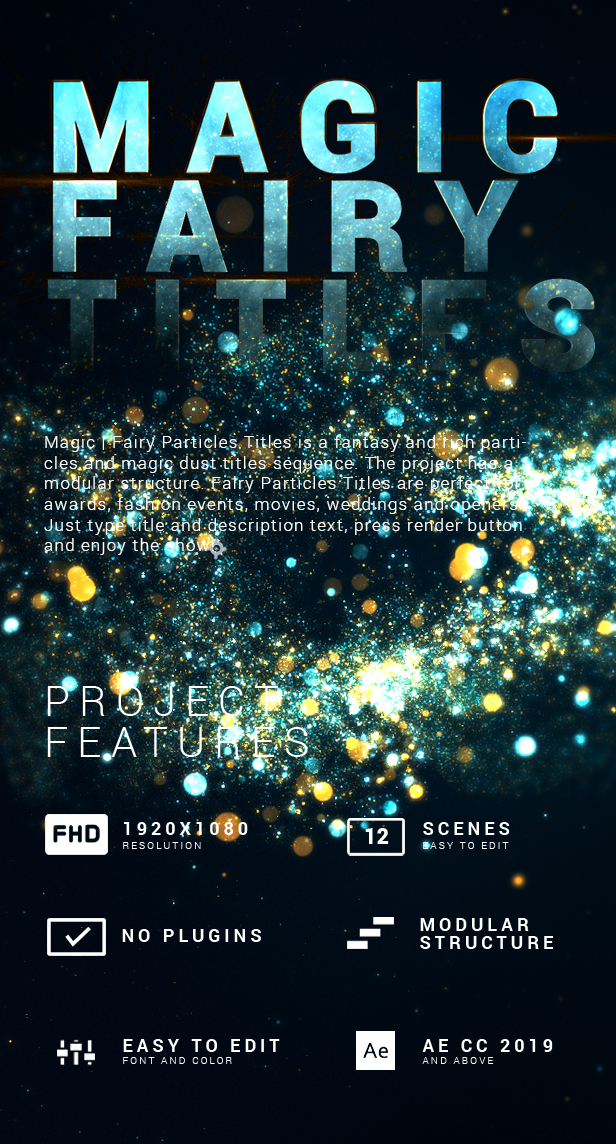 Magic | Fairy Particles Titles - 2