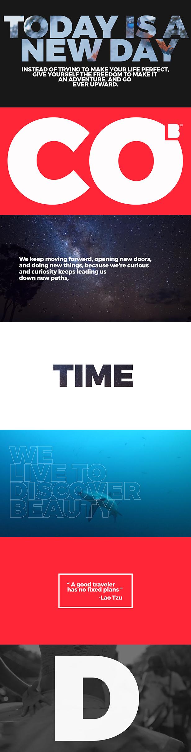 Videohive Typo Opener for Premiere Pro 22133333