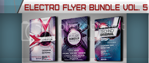 Electro Music Flyer Bundle Vol. 39 - 6