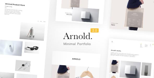 Minimallist WordPress Theme - Arnold