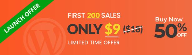 WPTimeline Designer Launching Offer 50% Discount
