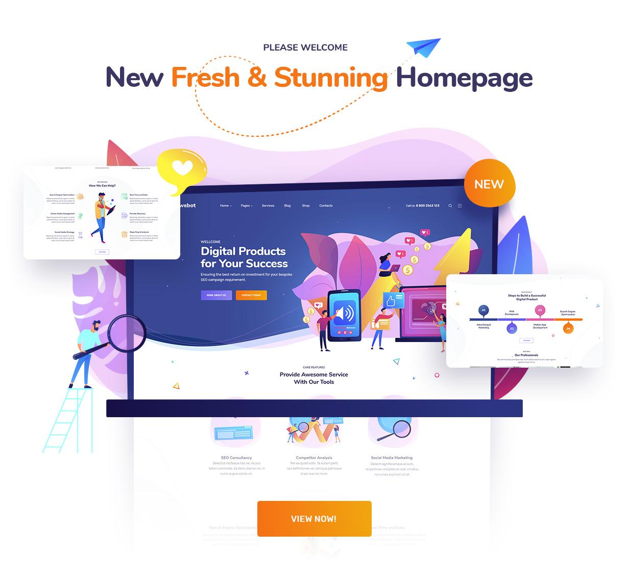 Ewebot - Marketing SEO Digital Agency - 1