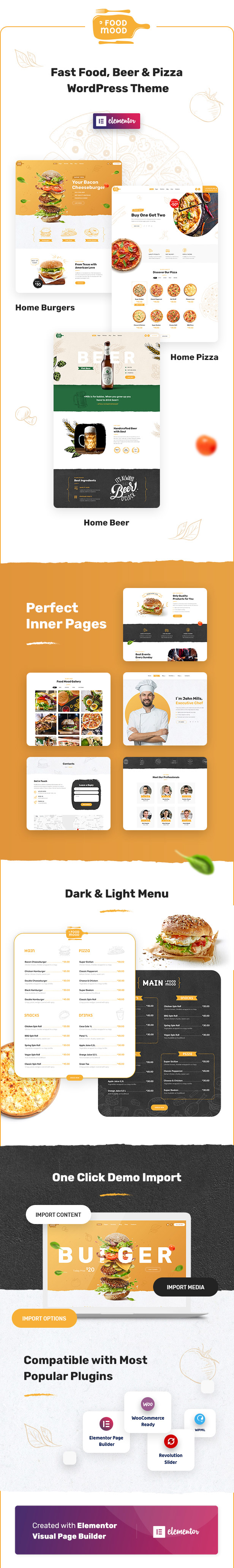 Foodmood - Cafe & Delivery WordPress Theme - 1