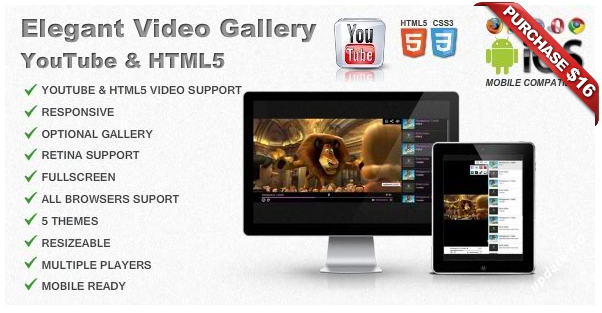 Ultimate Video Player with YouTube, Vimeo, HTML5, Ads - 10