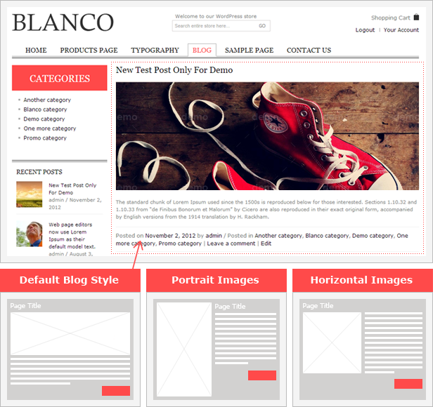 Blanco - Responsive WordPress Woo/E-Commerce Theme