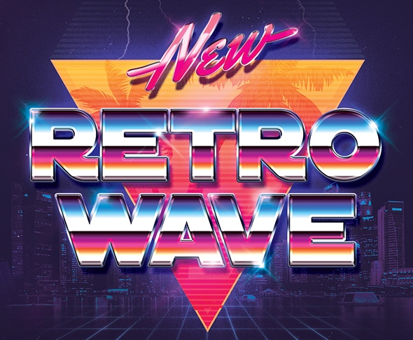 New Retro Wave by play_me | AudioJungle
