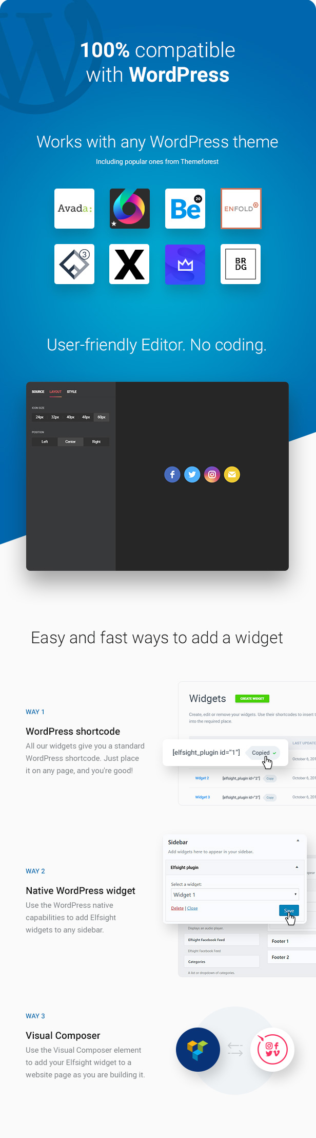 WordPress Social Media Icons – Social Icons Plugin - 3