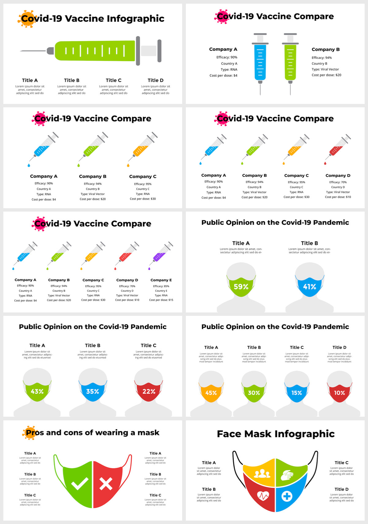 Huge Infographics Bundle! Lifetime Updates! PowerPoint, Photoshop, Illustrator. - 81