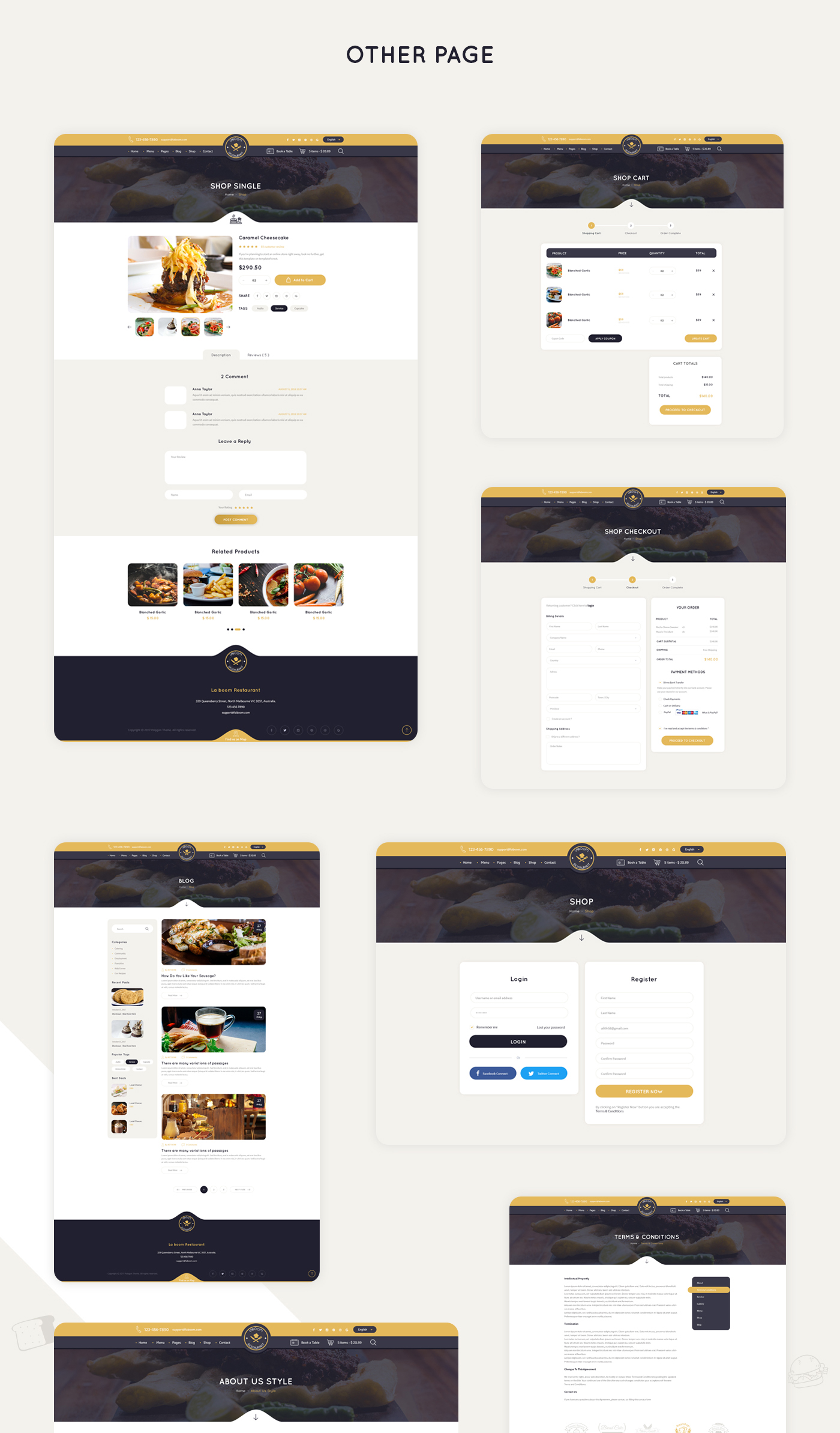 La Boom - Food & Restaurant Bistro WordPress Theme - 13