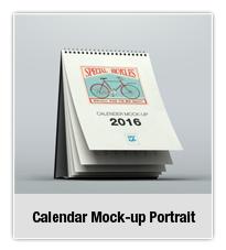 Calendar Mock-up Landscape - 1