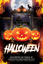 Halloween Flyer - 19