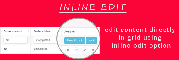 PDOCrud inline edit