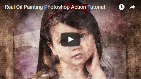 Real Oil Painting Photoshop Action CS3+ - 7