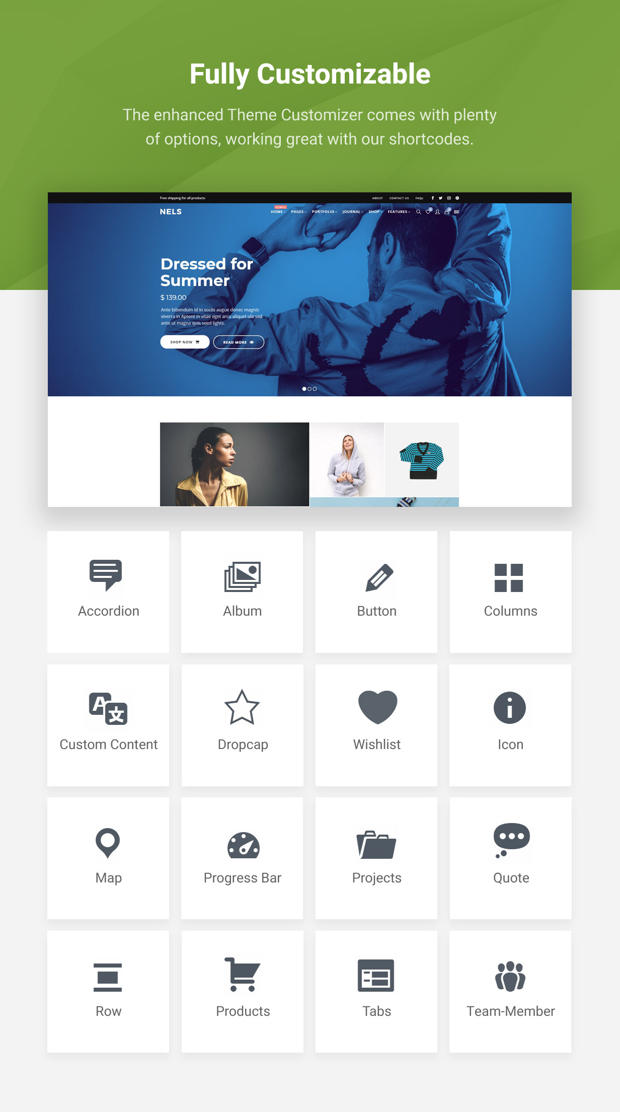 Nels - An Exquisite eCommerce WordPress Theme - 3