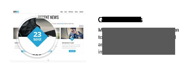 Mundus - A Business One Page WordPress Theme - 6