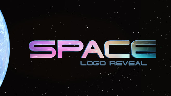 Space Logo Reveal - 4