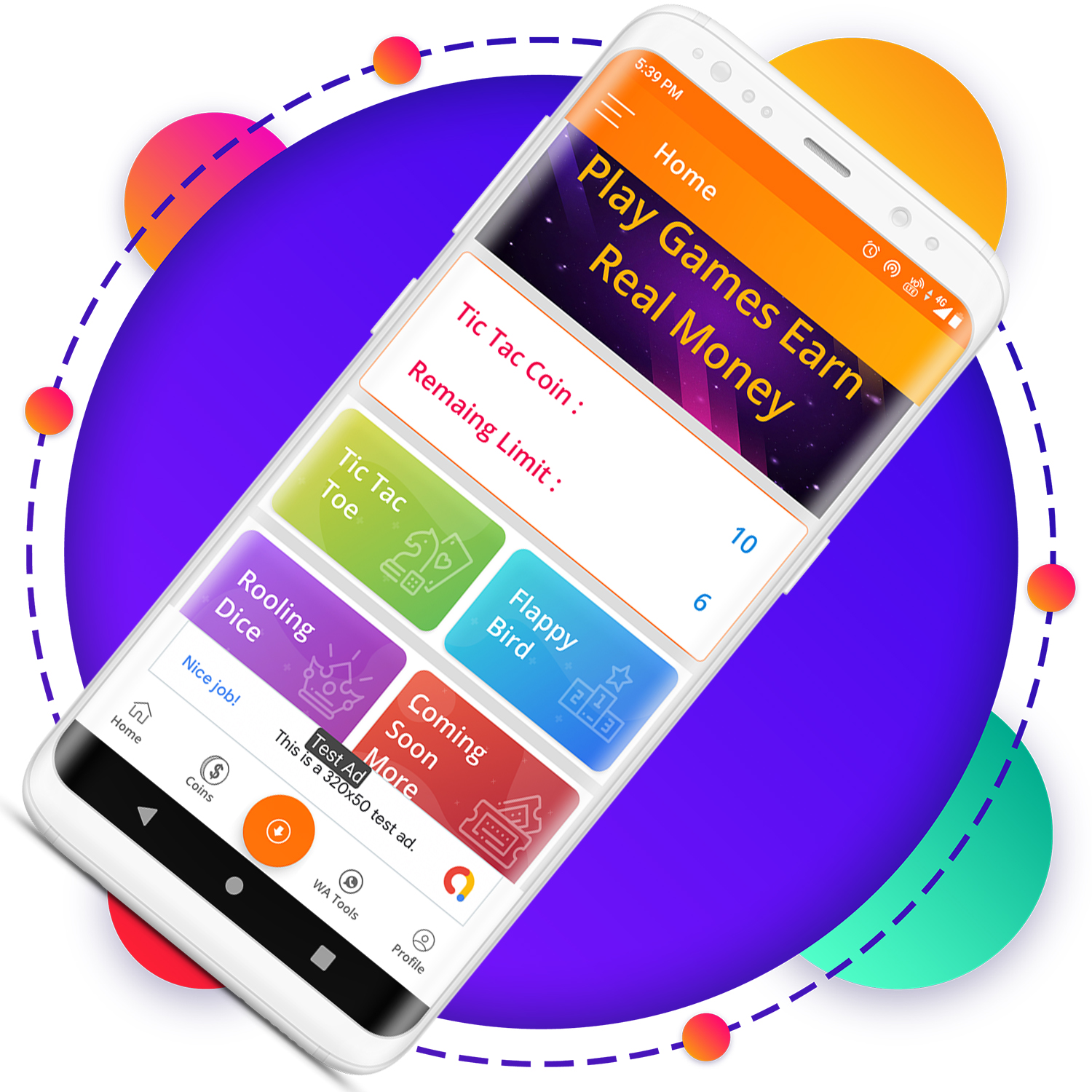 QuickCash All In One Money Earning Android App + Games + WhatsApp Tools + Earning System Admin Panel - 12