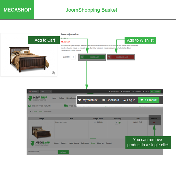 Megashop- JoomShopping Released