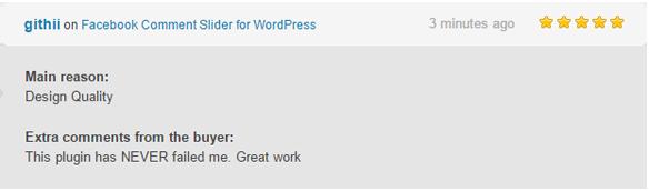 Facebook Comment Slider for WordPress - 3