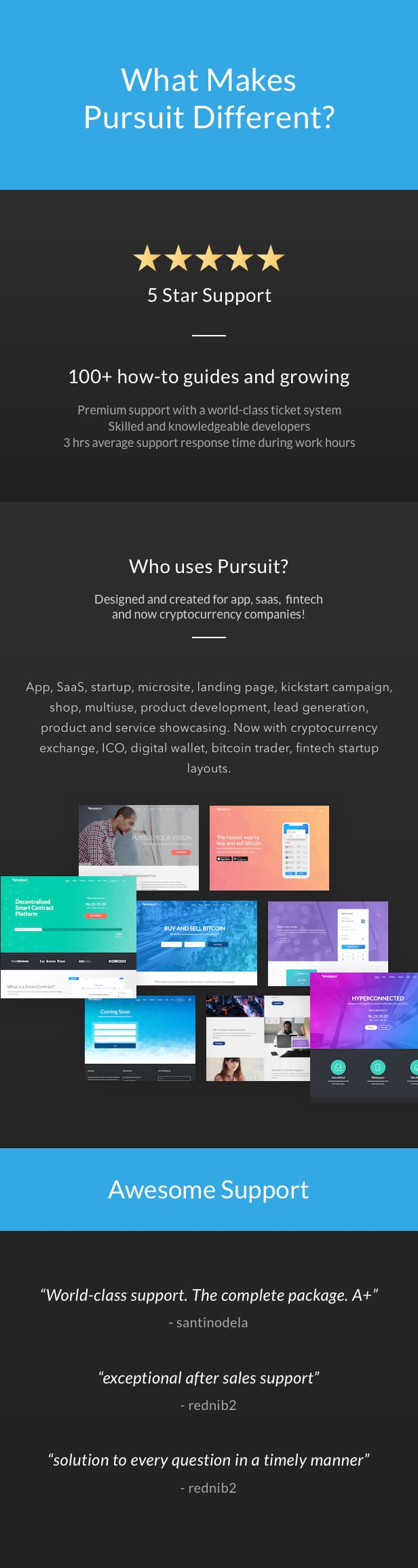 Pursuit - A Flexible App & Cloud Software Theme - 7