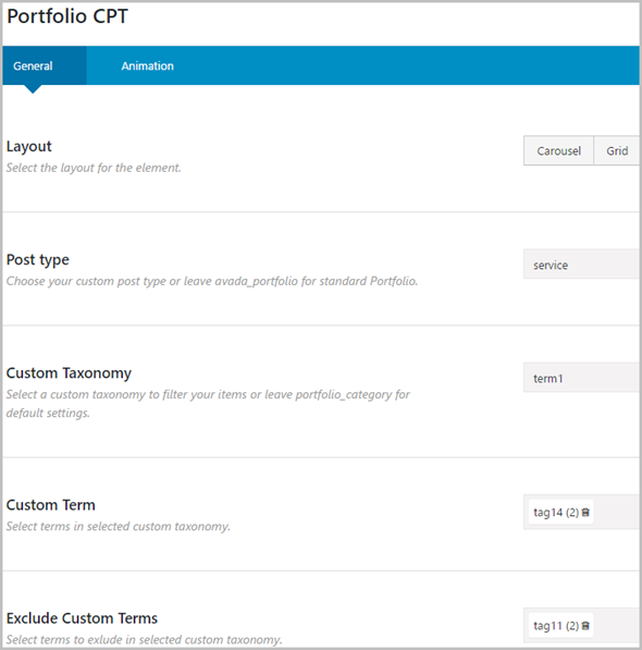 Custom Post Types and Taxonomies for Fusion Builder - 4