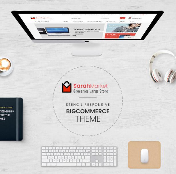 SarahMarket built with Stencil Framework