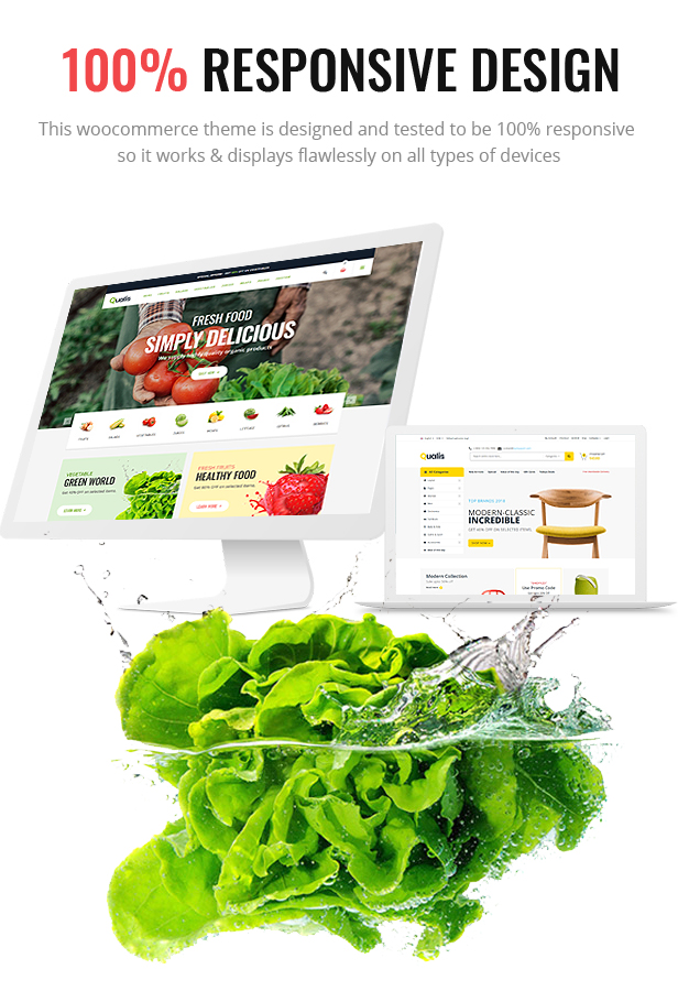 Qualis - Organic Food Responsive eCommerce WordPress Theme - 4