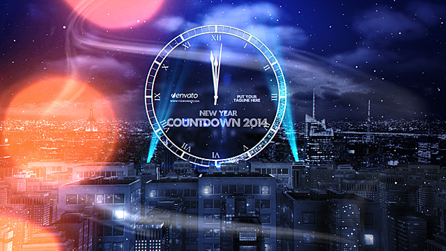 New Year Eve Countdown By FVS