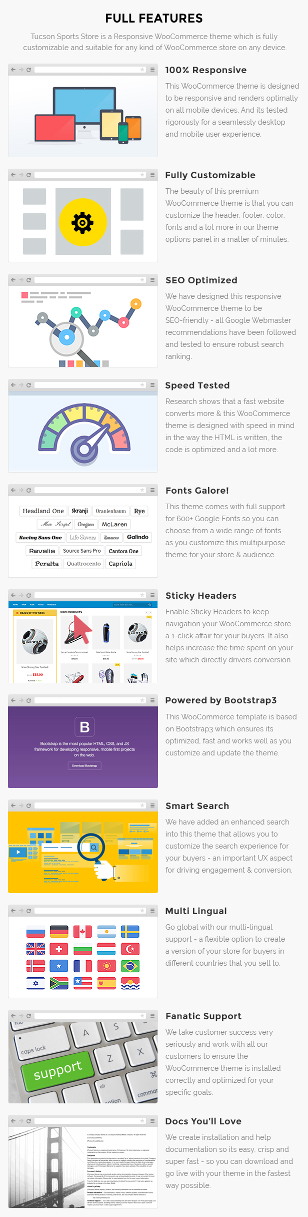 sports store website wordpress