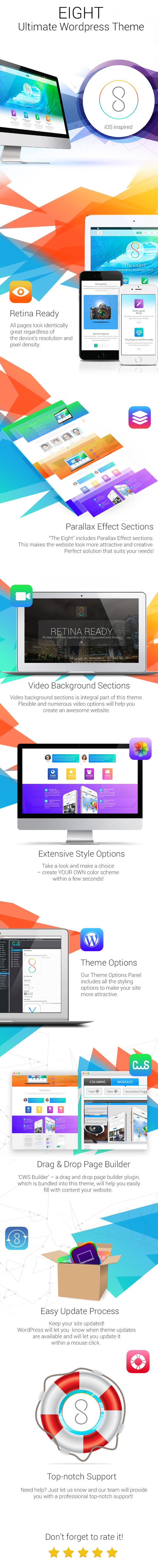 Eight - Multipurpose WordPress theme