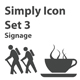 Simply Icon Set 3 (Signage) - 25
