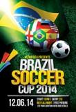 Brazil Soccer World Cup Flyer