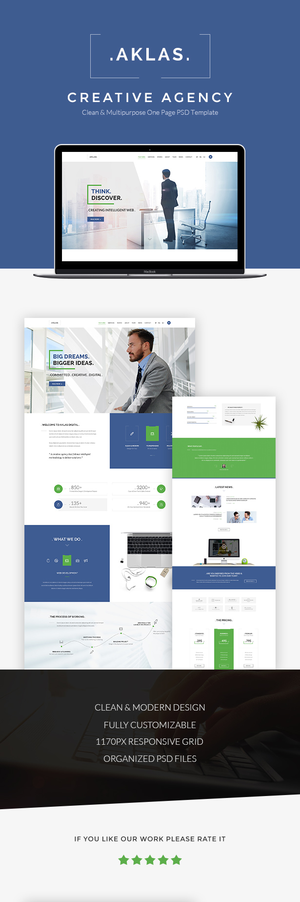 Aklas - Business Creative  HTML - 1