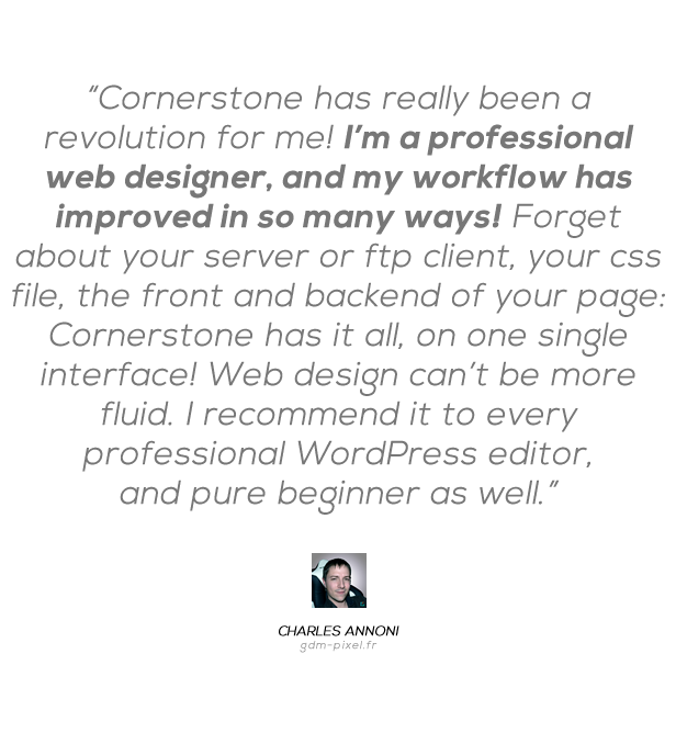 Cornerstone | The WordPress Page Builder - 4