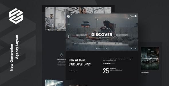 Anchor | Creative Agency Portfolio and Freelancer WordPress Theme by  themezinho