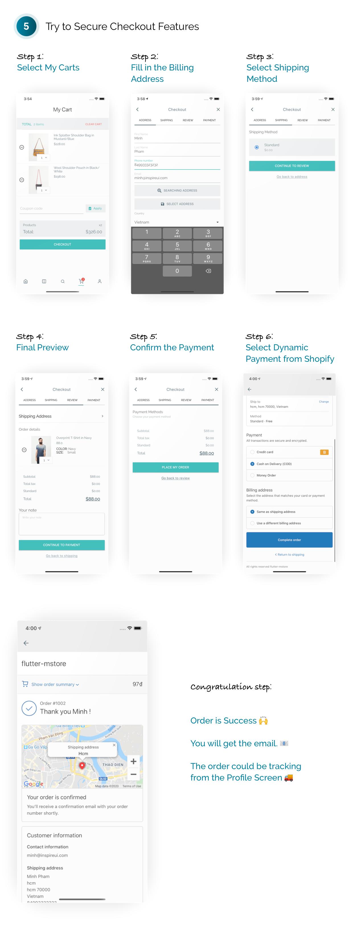 FluxStore Shopify - Die beste Flutter E-Commerce App - 7
