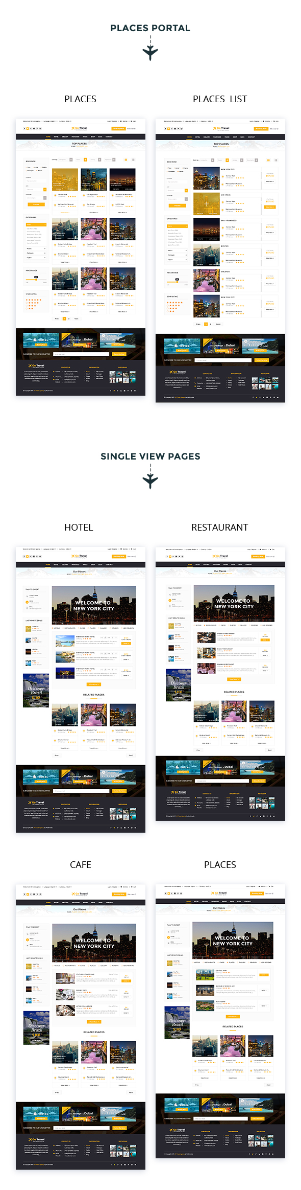 Travel PSD Template - 10