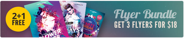 Top Party Flyer Bundle