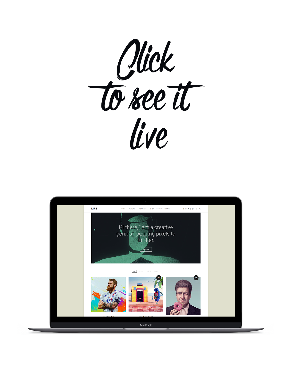 Life - Boxed Portfolio WordPress Theme