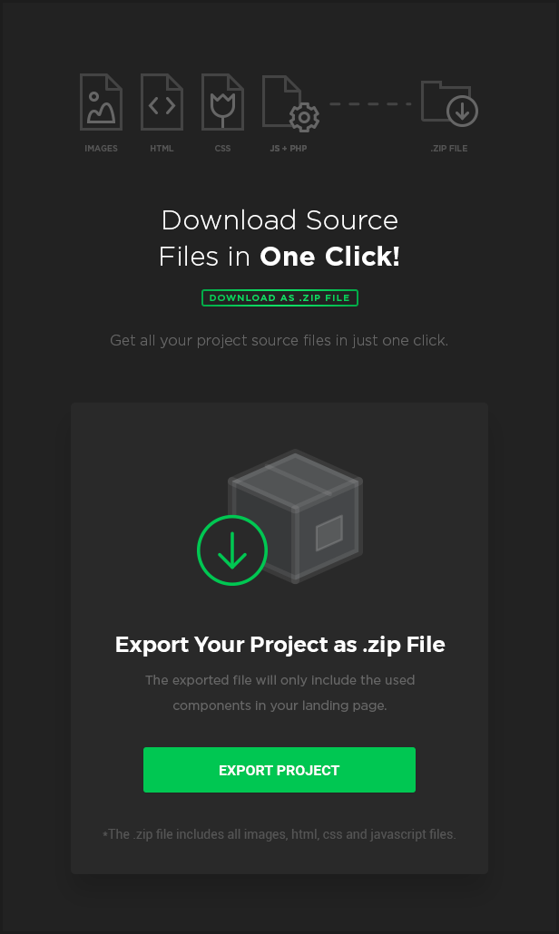 MEGAPACK – Marketing HTML Landing Pages Pack + PixFort Page Builder Access