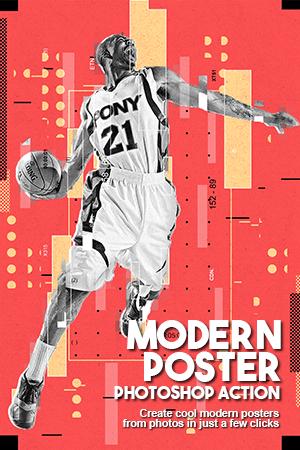 modern poster