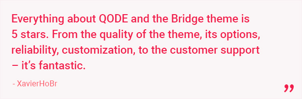 Bridge - Creative Multipurpose WordPress Theme - 19