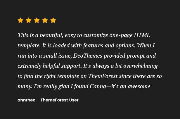 Canna – Creative Multi-Purpose HTML Template - 2