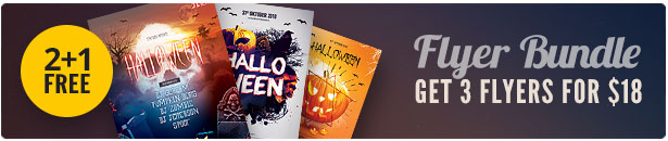 Halloween Flyer Bundle Vol.06