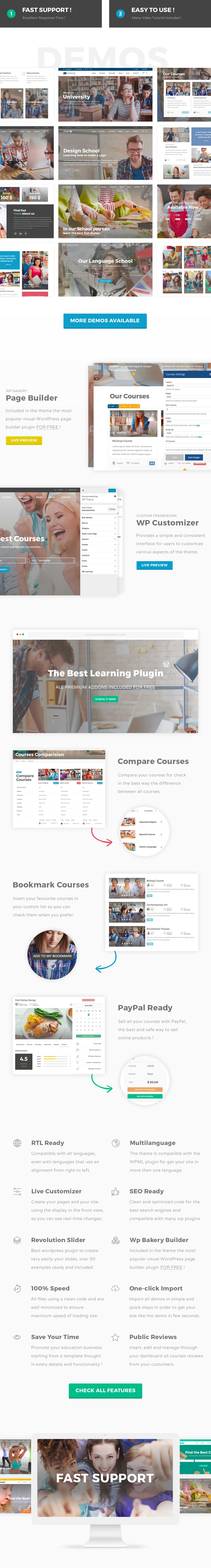 Education Pack - Education Learning Theme WP - 1
