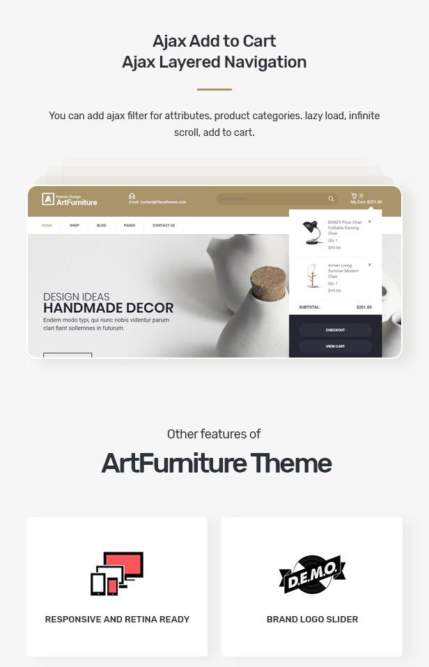 Artfurniture - Furniture Theme for WooCommerce WordPress 27