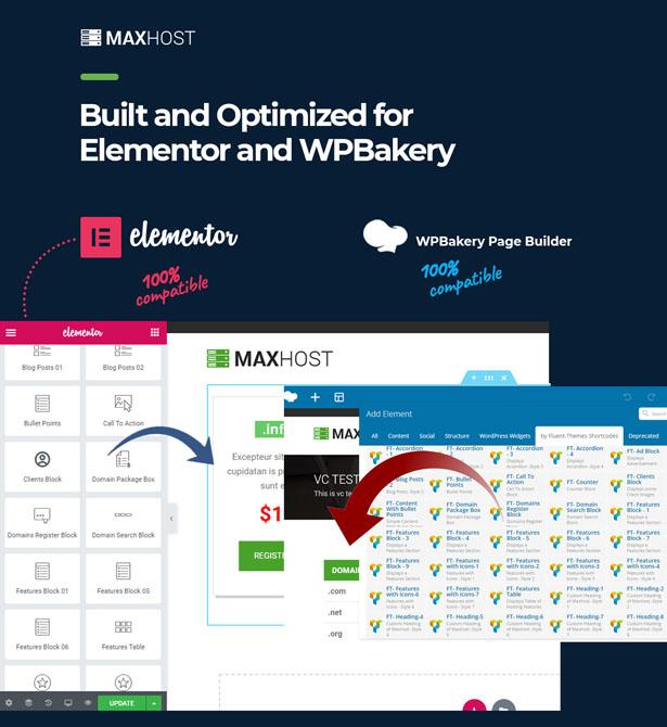 Maxhost Features