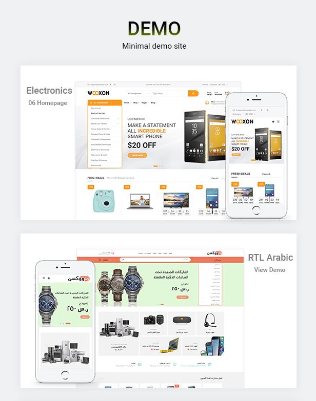 Wooxon - WooCommerce WordPress Theme - 2